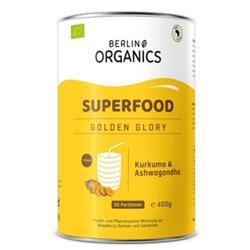 Bild von Berlin Organics - Bio Superfood Pulvermischung Golden Glory - 400 g