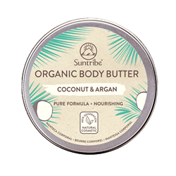Bild von Suntribe - 100% Organic Body Butter - Coconut & Argan - 150 ml