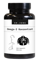 Bild von Dr. Jung Pharma - Omega-3 Konzentrat - 120 Kapseln