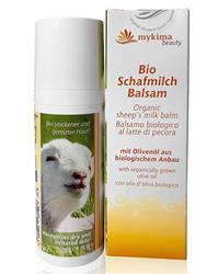 Bild von mykima - Beauty - Bio Schafmilch Balsam - Schafmilch & Olivenöl - Im Handspender - 50 ml
