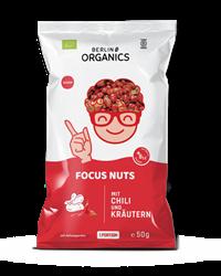 Bild von Berlin Organics - Bio Nussmischung Focus Nuts - 50 g