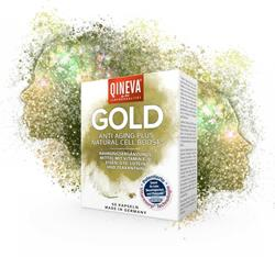 Bild von QINEVA - Gold Anti Aging Natural Cell Boost - 60 Kapseln